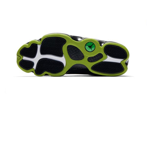Air Jordan 13 Retro Black Altitude Green