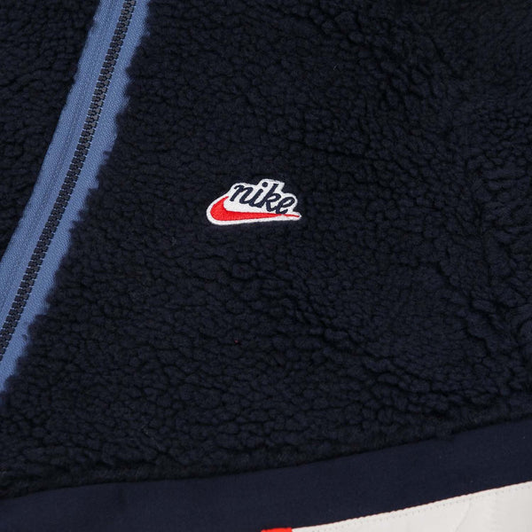 Nike Heritage Hooded Insulated Winter Jacket Obsidian
