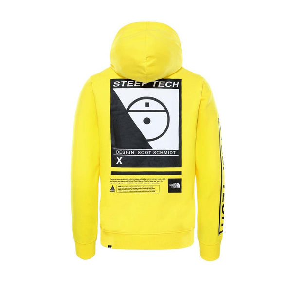 The North Face Steep Tech Logo Hood Lightning Yellow
