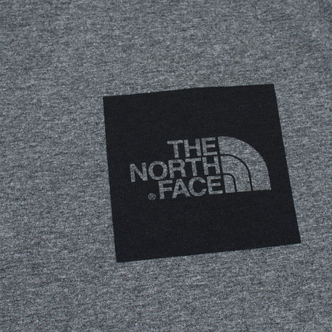 The North Face SS Fine Tee Grey Heather - Kong Online - 2