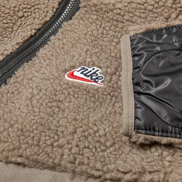 Nike Heritage Insulated Winter Jacket Olive Grey/Mystic Stone/Black