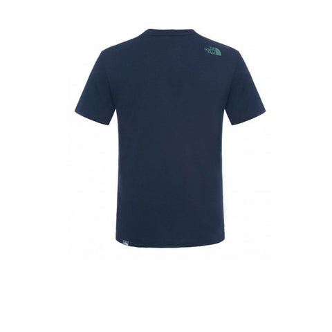 The North Face SS Easy Tee Navy - Kong Online - 2