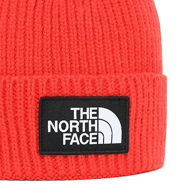 The North Face Logo Box Cuffed Beanie Flare