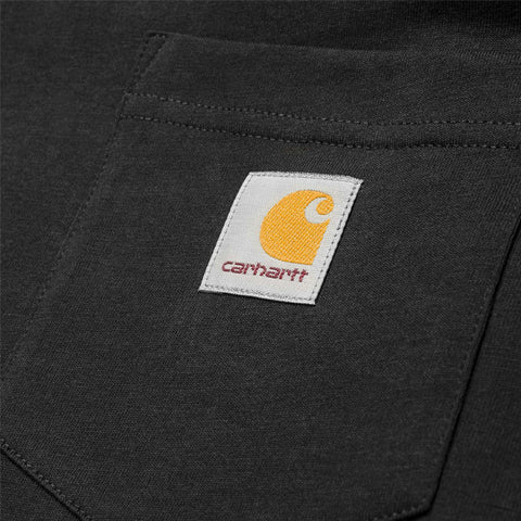 Carhartt L/S Pocket T-Shirt Black - Kong Online - 2
