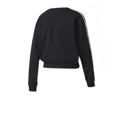 Adidas 3S Crop Sweater Black
