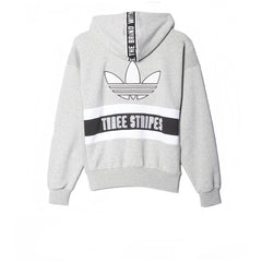 Adidas Brand Zip Hoody Grey Heather - Kong Online - 2