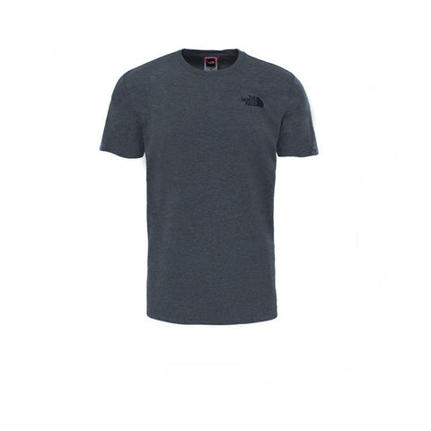 The North Face SS Red Box Tee Grey Heather