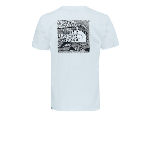 The North Face S/S Redbox Cel Tee TNF White