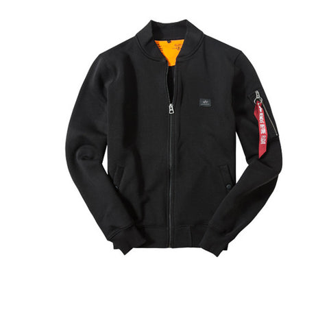 Alpha Industries X-Fit Sweat Jacket MA1 Black