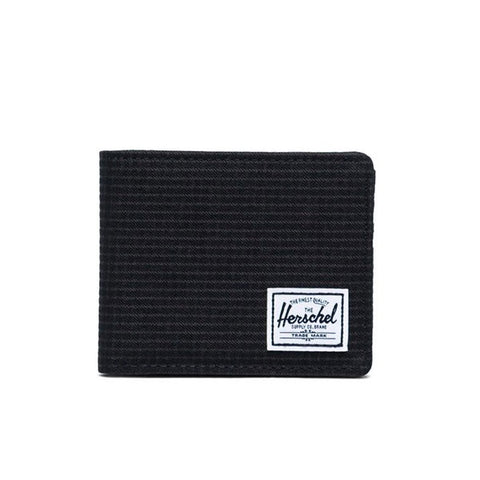 Herschel Roy RFID Dark Grid Black