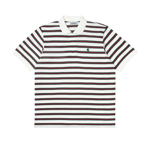 Carhartt Oakland Stripe Polo Wax