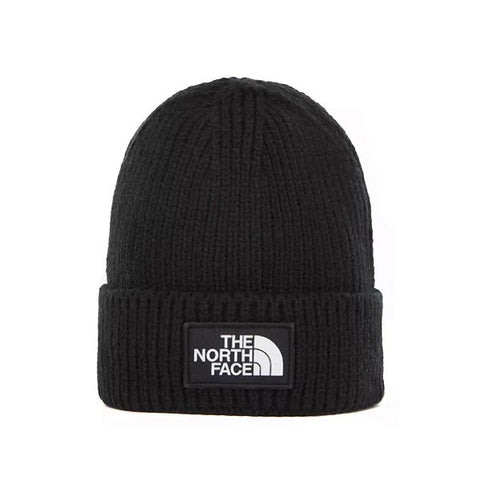 The North Face TNF Logo Box Cuf Beanie TNF Black