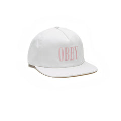 Obey Polly Snapback White