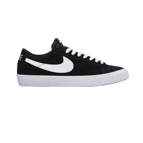 Nike SB Blazer Zoom low Black White Gum - Kong Online - 1
