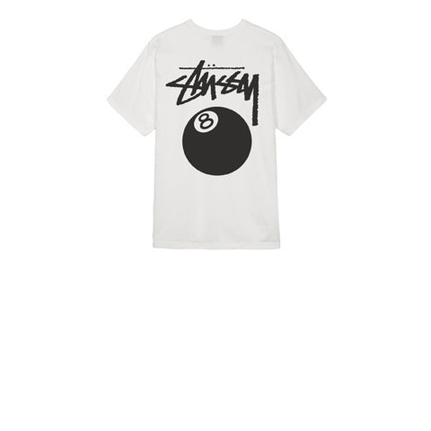 Stussy 8 Ball Pig Dyed Tee Natural