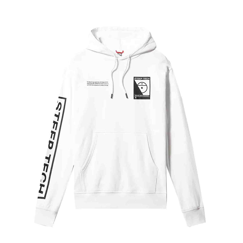 The North Face Steep Tech Logo Hood White