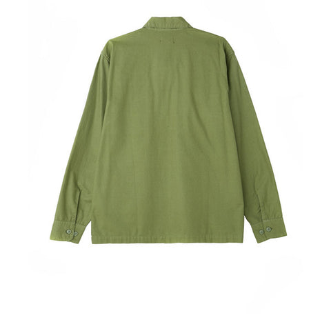 Obey Mission Military Woven L/S Light Army