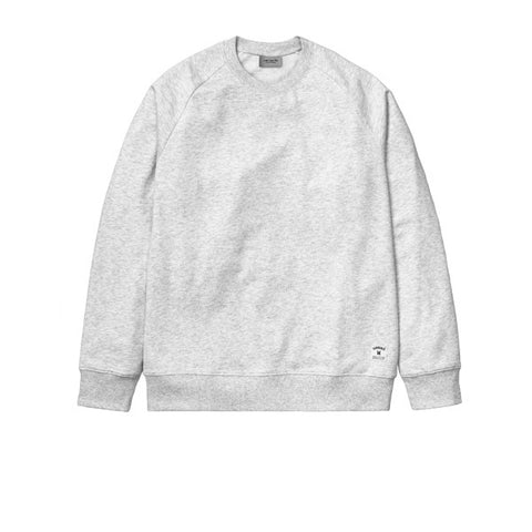 Carhartt Holbrook Sweat Ash Heather - Kong Online - 1