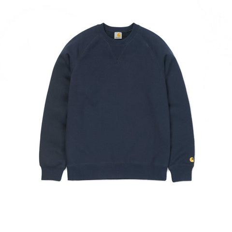 Carhartt Chase Sweat Navy - Kong Online - 1