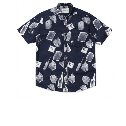 Carhartt S/S Flammable Shirt Blue White