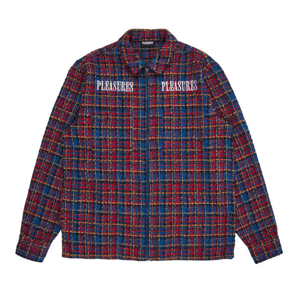 Pleasures Voices Overshirt Blue