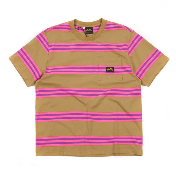 Stan Ray S/S Football Tee Washed Pink