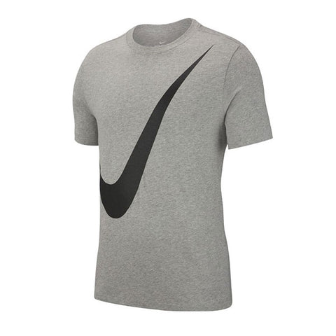 Nike Swoosh Tee Dark Grey Heather Black