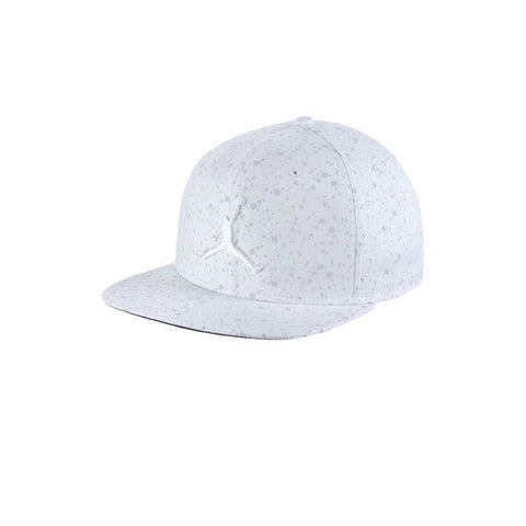 Air Jordan Speckle Print Snapback White