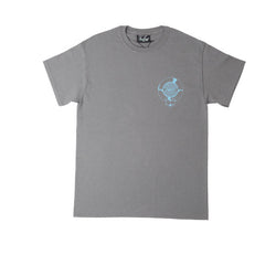 FNKST Garage Sign Tee Charcoal Blue - Kong Online - 1