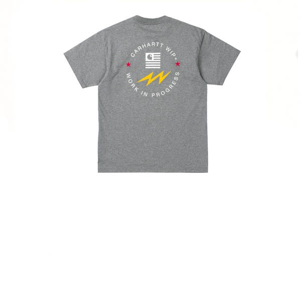 Carhartt S/S State Sports T-Shirt Dark Grey Heather