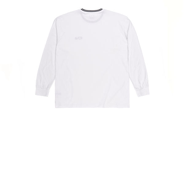 Polar Striped Rib Longsleeve White Black