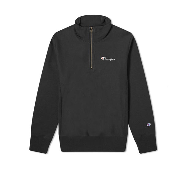 Champion Half Zip Sweatshirt Black