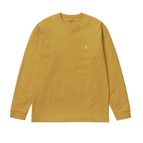 Carhartt L/S Chase T-Shirt Colza Gold
