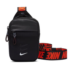 Nike Essentials Hip Pack Black White Red