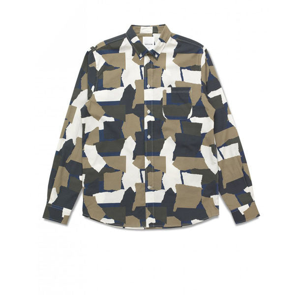 WOOD WOOD Paco Shirt Rip Dress Blue - Kong Online