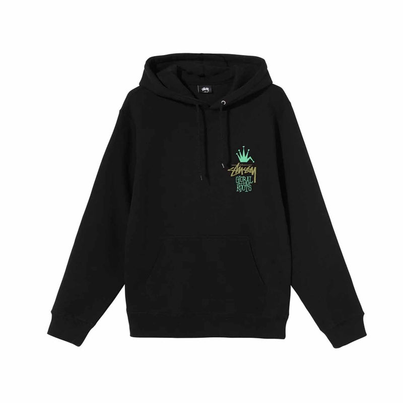 Stussy Global Roots Hood Black
