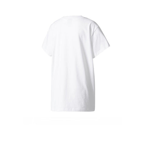 Adidas Big Trefoil Tee White Black