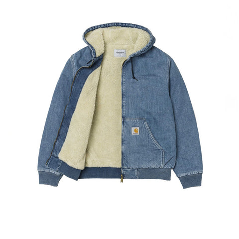 Carhartt Active Jacket Blue Stone Washed