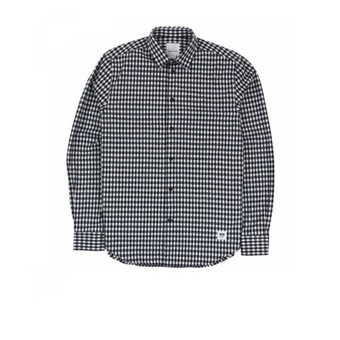 WOOD WOOD Greco Shirt White Check - Kong Online - 1
