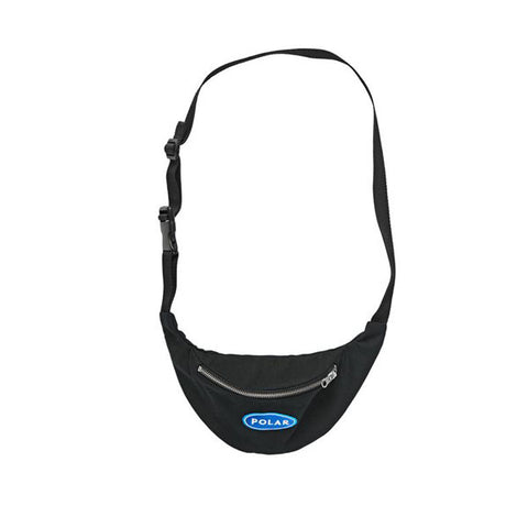 Polar Station Logo Hip Bag Black