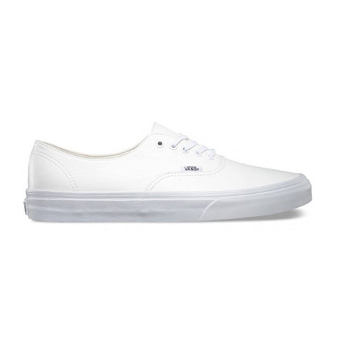 Vans Authentic Decon Premium Leather White - Kong Online - 1