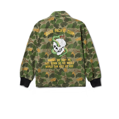Diamond Pacific Tour Jacket Olive Camo