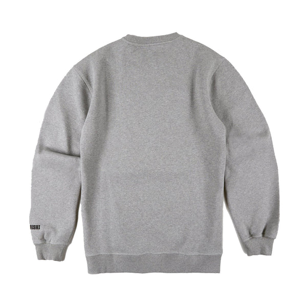 Maharishi MA20 Crew Sweat Grey Marl