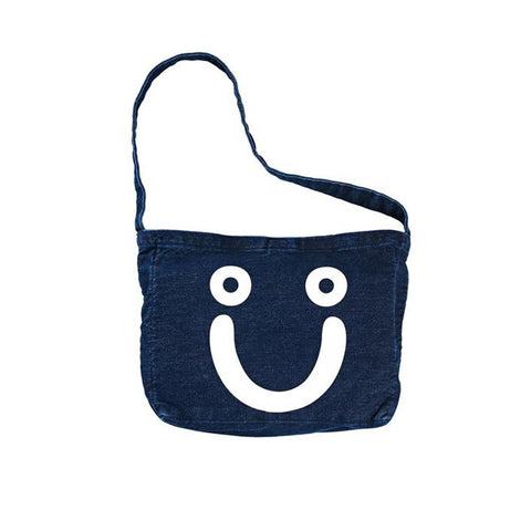 Polar Happy Sad Tote Bag (Denim) Dark Blue