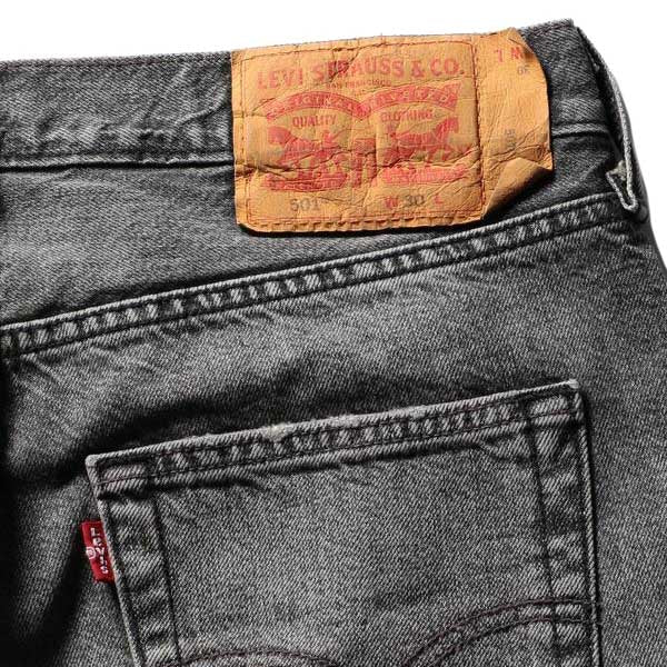 Levis 501 Original Cutoff Short Black Hawaii