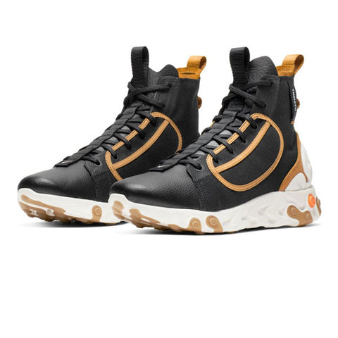 Nike React Ianga Black/White/Wheat Phantom