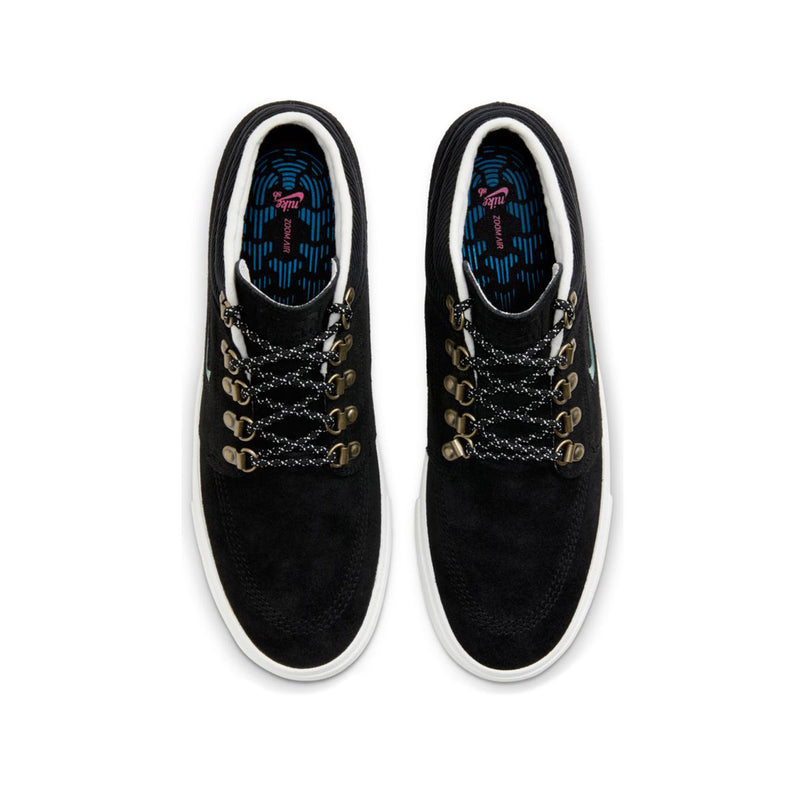 Nike SB Zoom Stefan Janoski Mid Premium Black/Glacier Ice-Black Summit White