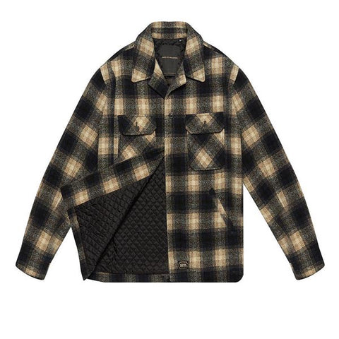 Deus The Piston Wool Shirt Green