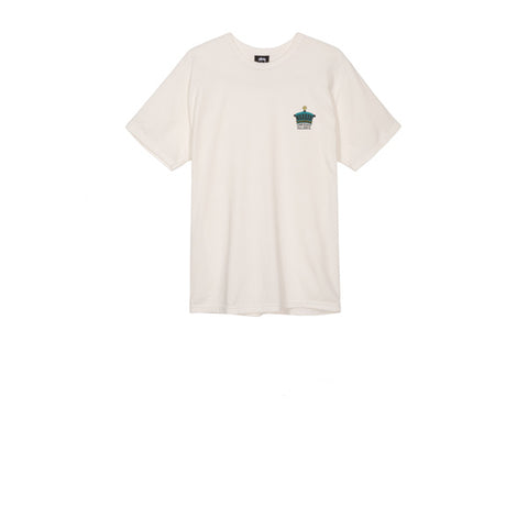Stussy The Crown Pig Dyed Tee Natural