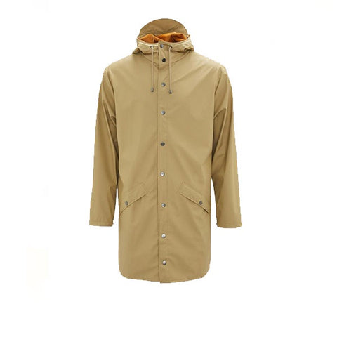Rains Long Jacket Desert